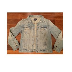Lucky Brand Jackets & Coats - Embroidered denim jacket. Never worn